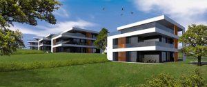 újépítésű lakások